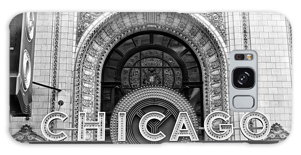 Chicago Art Galaxy Case - Chicago Theater Marquee by Frozen in Time Fine Art Photography