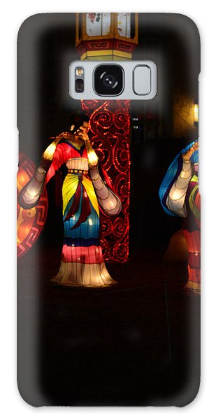 Chinese Dancers 2 Galaxy Case