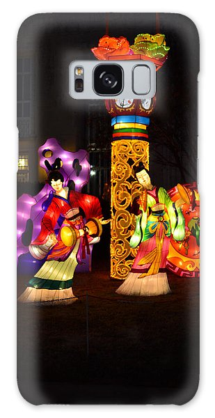 Chinese Dancers Galaxy Case