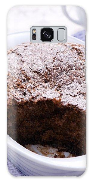 Picnic Table Galaxy Case - Chocolate Pudding by Amanda Elwell