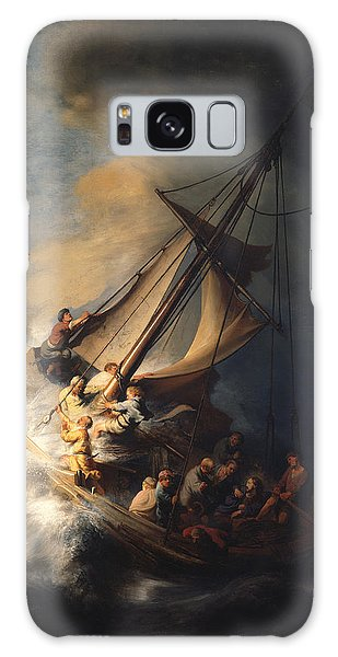 Christ In The Storm On The Sea Of Galilee Galaxy Case