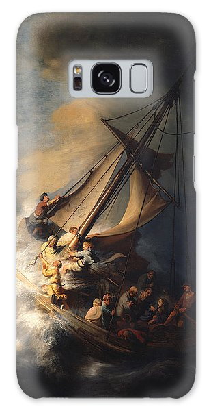 Spirituality Galaxy Case - Christ In The Storm On The Sea Of Galilee by Rembrandt Van Rijn