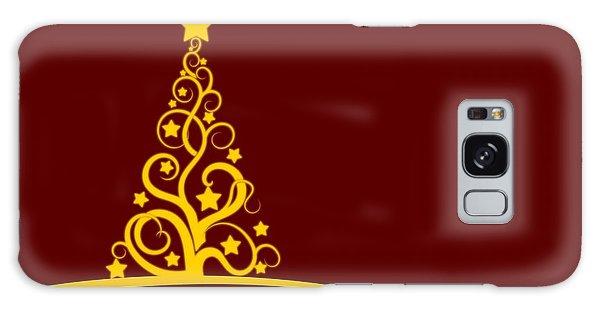 Christmas Card  Galaxy Case by Martin Capek