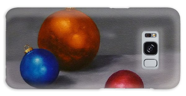Christmas Glow Greeting Card  Galaxy Case