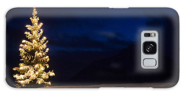 Christmastree Galaxy Case