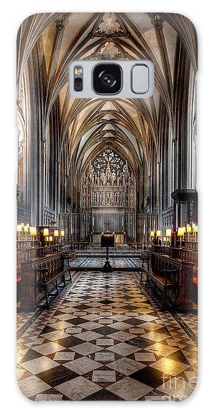 Church Interior Galaxy Case