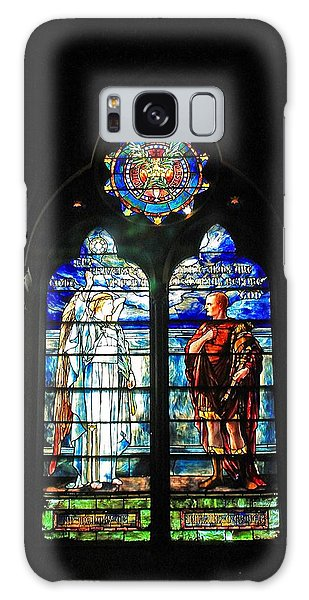 Church Of The Covenant Stained Glass 11 Galaxy Case