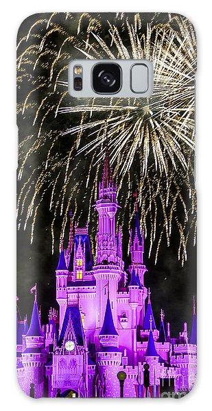 Magic Kingdom Cinderella Castle Galaxy Case
