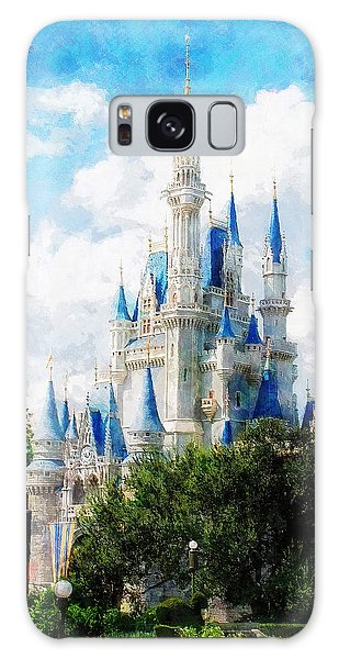 Cinderella Castle Galaxy Case