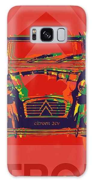 Citroen 2cv Galaxy Case by Jean luc Comperat