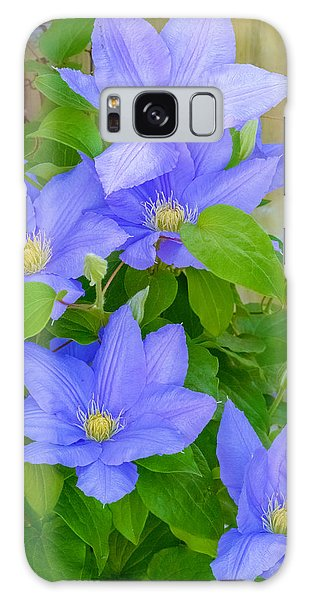Clematis  Galaxy Case