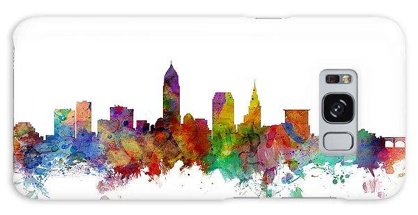 Usa Galaxy Case - Cleveland Ohio Skyline by Michael Tompsett