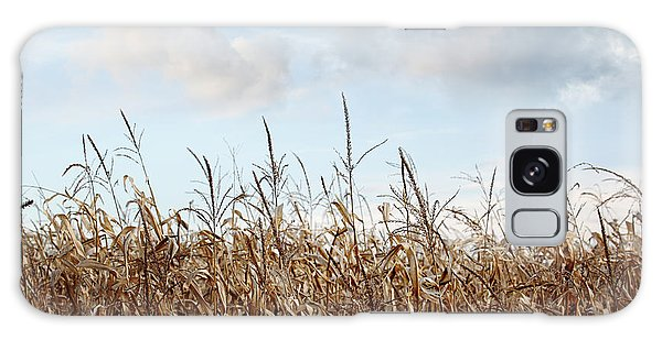Galaxy Case featuring the photograph Closeup Of Corn Stalks  by Sandra Cunningham
