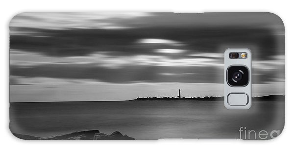 Cape May Galaxy Case - Clouds In Motion Bw by Michael Ver Sprill