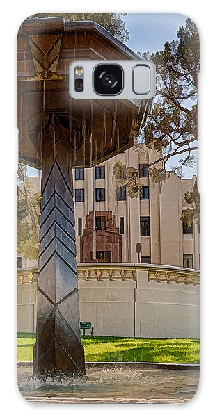 Galaxy Case featuring the photograph Cochise County Courthouse by Beverly Parks