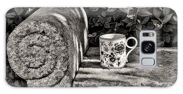 Coffee In Garden Galaxy Case