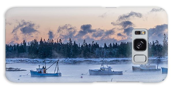 Cold Day In Maine  Galaxy Case by Trace Kittrell