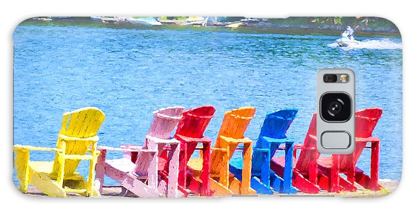 Colorful Chairs Galaxy Case