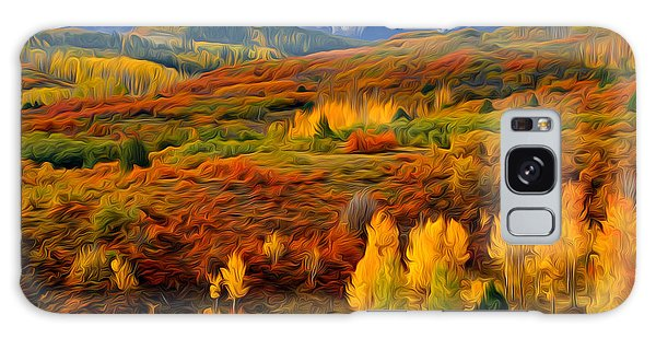 Colorful Colorado At It's Best Galaxy Case