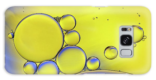 Water Droplets Galaxy Case - Colors Of Ikea by Heidi Westum