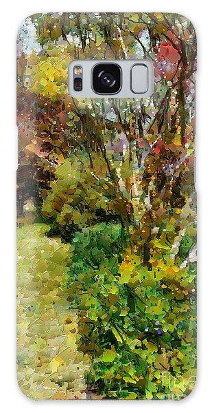 Colourful Garden Galaxy Case