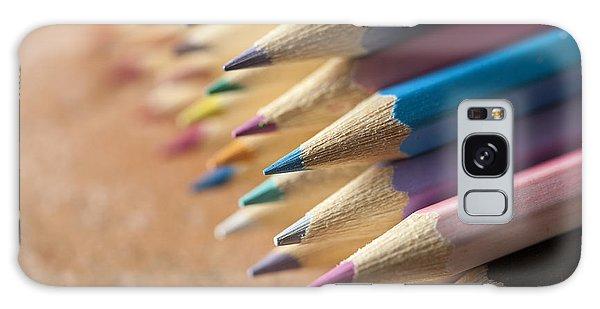 Colouring Pencils Galaxy Case