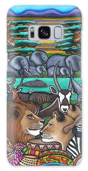 Colours Of Africa Galaxy Case