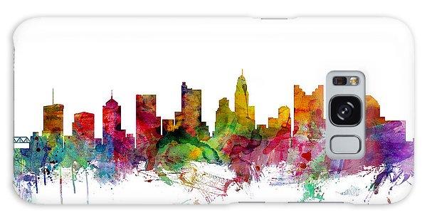 Usa Galaxy Case - Columbus Ohio Skyline by Michael Tompsett