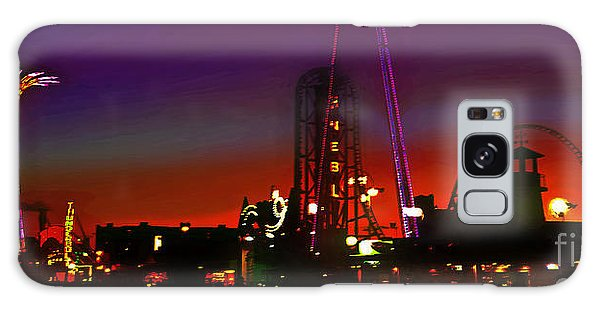 Coney Island Amusement Park And Parachute Jump Galaxy Case