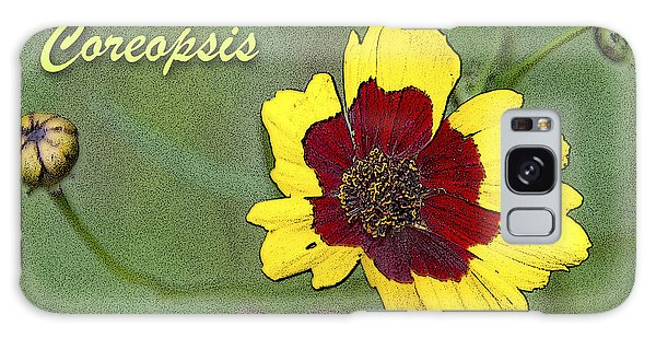 Galaxy Case - Coreopsis Flower And Buds by A Gurmankin