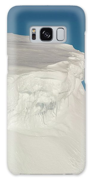 Cairngorms National Park Galaxy Case - Cornices In The Cairngorms by Duncan Shaw/science Photo Library
