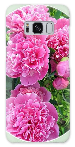 Country Peonies Galaxy Case