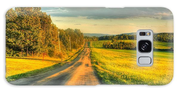 Country Road Galaxy Case by Ed Roberts