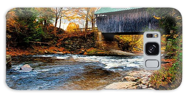 Covered Bridge Galaxy Case by Bill Howard