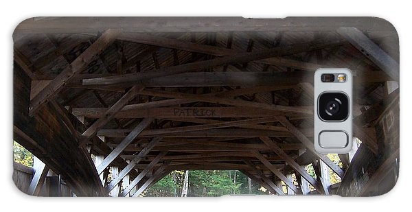 Covered Bridge Galaxy Case by Catherine Gagne