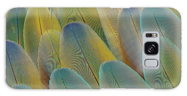 Macaw Galaxy Case - Covert Wing Feathers Of The Camelot by Darrell Gulin
