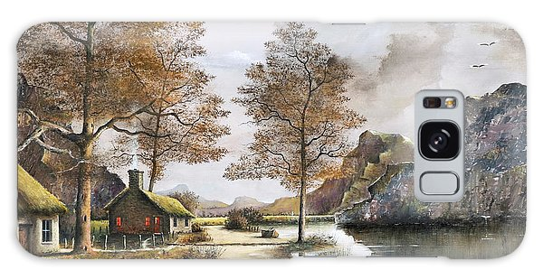 Crofters Cottages Galaxy Case