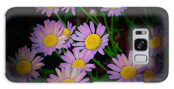 Daisies I Galaxy Case by Shirley Moravec