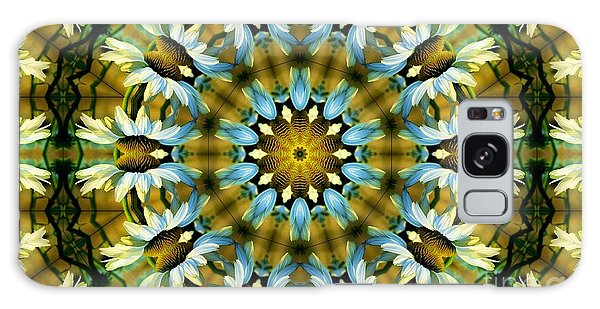 Kaleidoscope Daisy Mae Galaxy Case