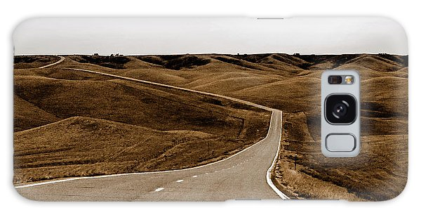Dakota Highway 1804 Galaxy Case by Thomas Bomstad
