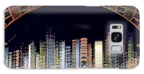 Dallas At Night Galaxy Case
