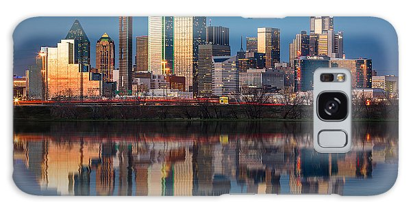 Dallas Galaxy S8 Case - Dallas Skyline by Mihai Andritoiu