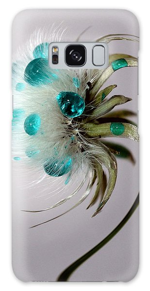 Dandelion Blues Galaxy Case