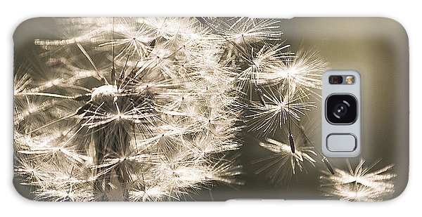 Dandelion Galaxy Case by Yulia Kazansky