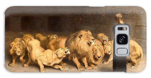 Dungeon Galaxy Case - Daniel In The Lions' Den by Briton Riviere