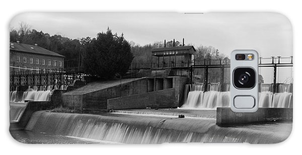 Daniel Pratt Cotton Mill Dam Prattville Alabama Galaxy Case by Charles Beeler