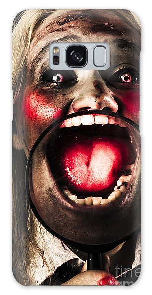 Voodoo Galaxy Case - Dark And Scary Horror Face. Evil Laugh by Jorgo Photography - Wall Art Gallery