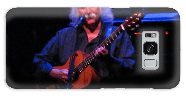 David Crosby Galaxy Case by Melinda Saminski