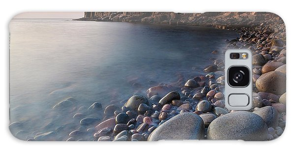Otter Rock Galaxy Case - Dawn In Monument Cove In Maine's Acadia by Jerry and Marcy Monkman