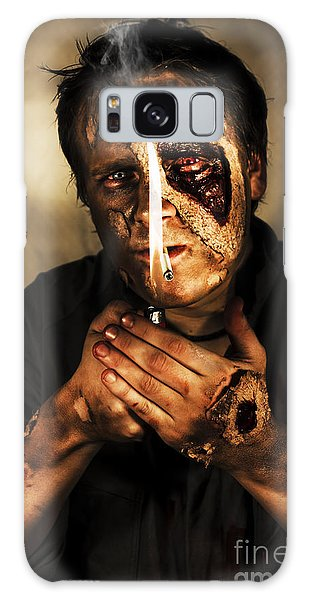 Voodoo Galaxy Case - Dead Man Smoking by Jorgo Photography - Wall Art Gallery